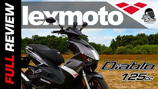 Lexmoto Diablo Road Test Review | 125cc Scooter!