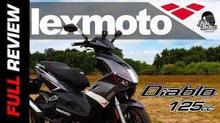 Lexmoto Diablo Road Test Review | 125cc Scooter!