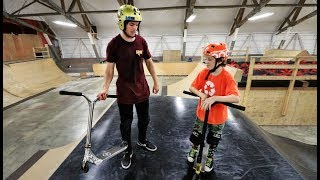Ryan Williams Vs 12 Year Old Scooter Kid | Game Of Scoot