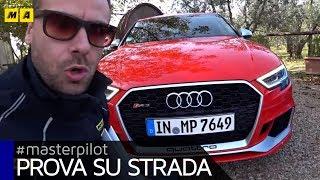 Audi RS3, RS5 e TT RS: con Audi Sport da Firenze a Misano per #roadNtrack 2017 | #Masterpilot vlog