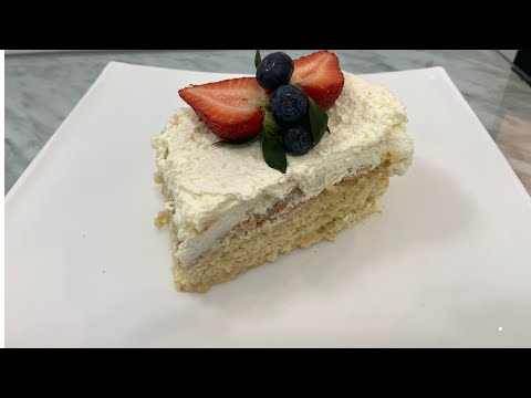 Ethiopian food how to make cream cake