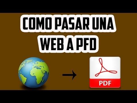 Como guardar una pagina WEB en formato PDF from YouTube · Duration:  5 minutes 53 seconds