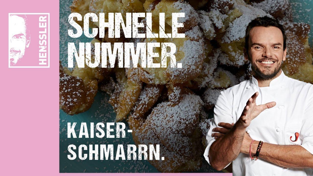 Schnelles Kaiserschmarrn-Rezept a la Grill den Henssler von Steffen Henssler
