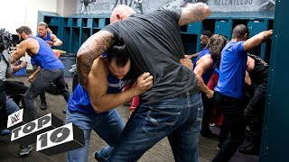 Wildest locker room brawls: WWE Top 10, March 19, 2018 2017 Video