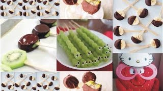 ФрУкТо ПОПСЫ Популярный десерт/Fruits POPS/Kiwi Grape Banana