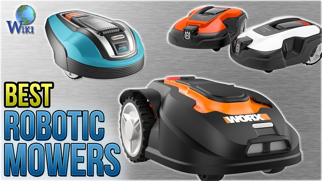 10 Best Robotic Mowers 2018