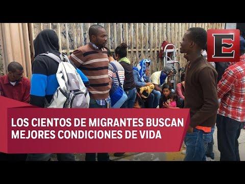 Tijuana, la pequeña Haíti de México