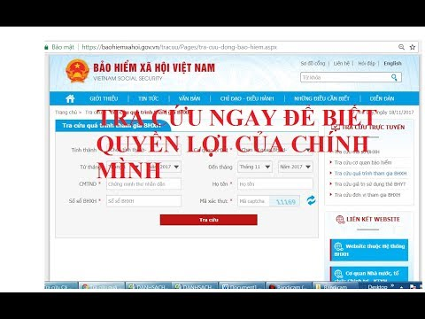 Cách tra mã số bhxh, cách tra mã số bhyt | Tự Học Vlog from YouTube · Duration:  15 minutes 37 seconds