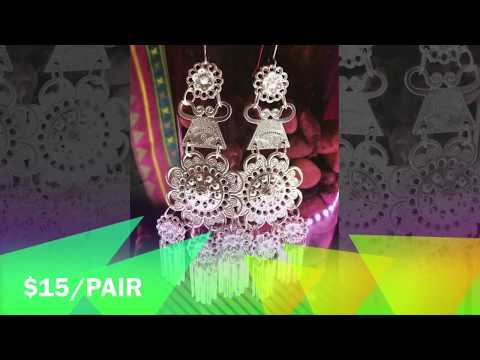 Hmong Earrings by Va Xee Moua Slideshow