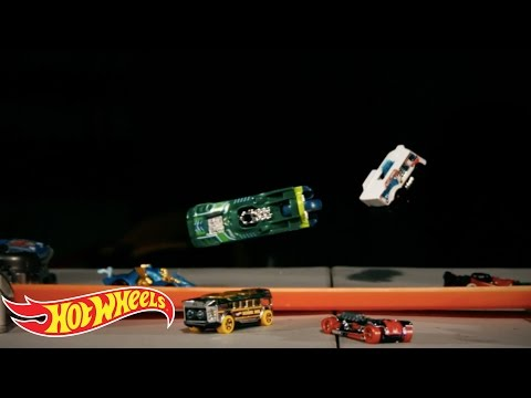 The Slow Mo Guys Booster Battle | Make It Epic | Hot Wheels