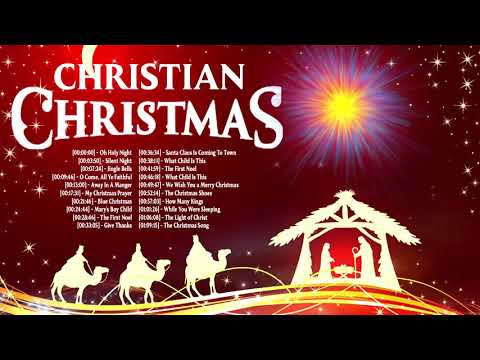 Top Old Christmas Songs Playlist - Uplifting Christian Christmas Songs 2021 Full Album