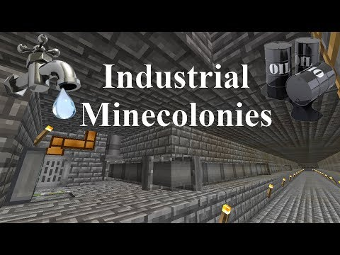 Industrial Minecolonies 1.11.2 Episode 10 - Water Feed To houses, Sort Of