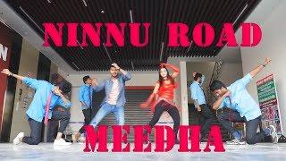 #Ninnu Road meeda    cover song    by    Pradeep    and    v j dance team
