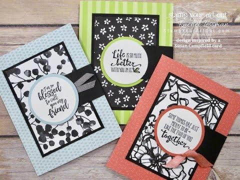 Stamp Your Art Out with Rachel: Petal Passion Flip Fold Card