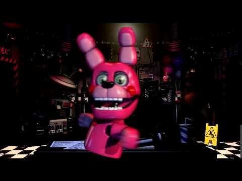 FNaF UCN , Vegas Pro 1 I made a animated picture bonnet walking animation!