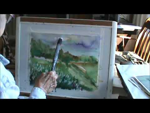 Watercolor Queen Annes Lace Demo Part 2 Millie Gift Smith