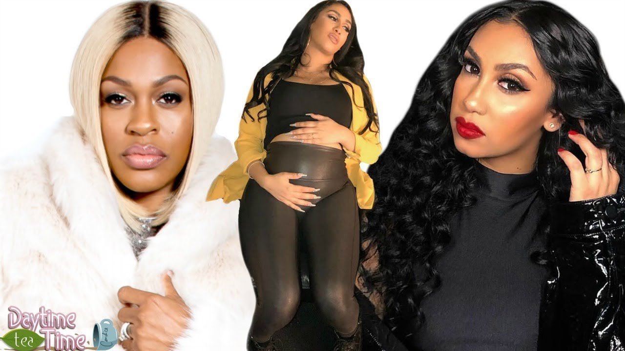 Queen Naija gets BULLIED for being LIGHT-SKIN and PREGGERS! Singer Lil'Mo BLASTS Queen (DETAILS