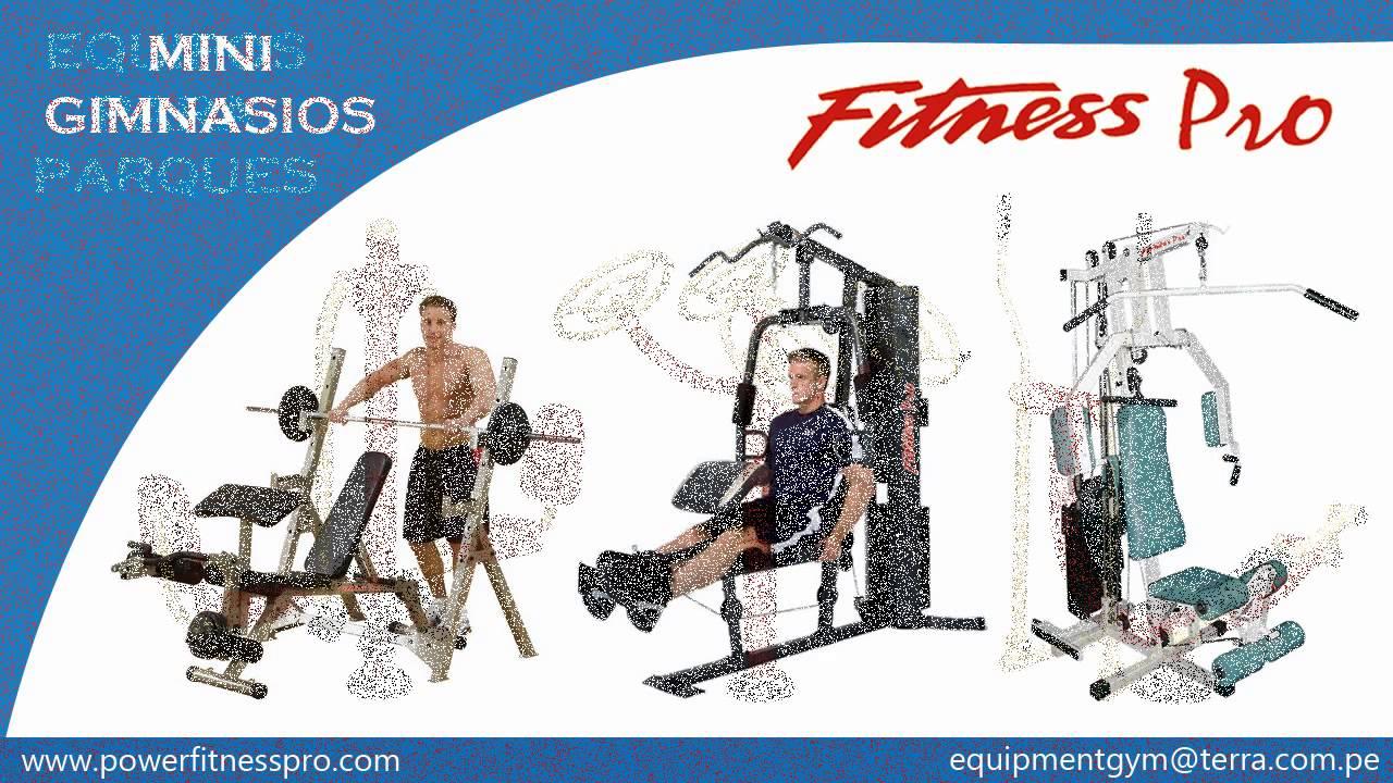 Fitness pro equipos de gimnasio para el hogar y o - Equipamiento de gimnasios ...
