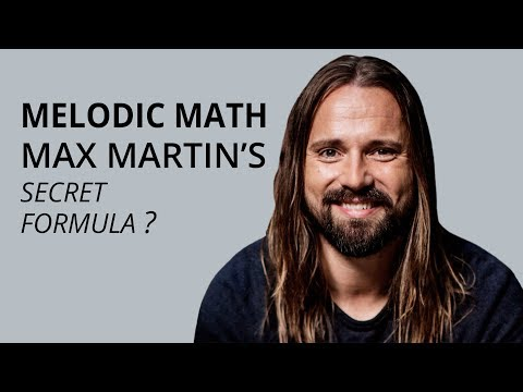Melodic Math – Max Martin's Secret Songwriting Formula // Episode 14