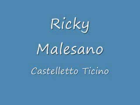 Ricky Malesano - Castelletto Ticino radio deejay mp3