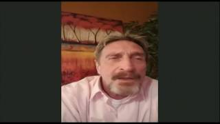 The Russians are coming! Run for your lives! John McAfee on NTV-Russia: