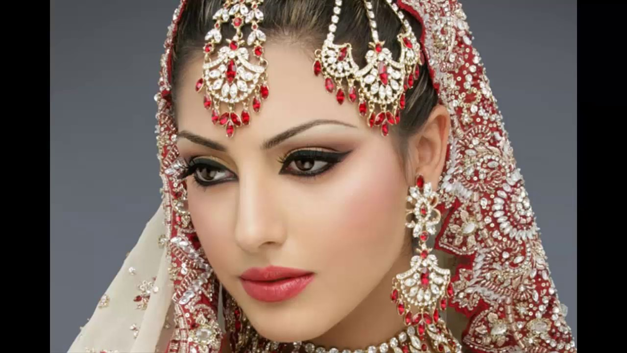 Latest Indian And Pakistani Bridal Makeup Perfect Ideas 2017 - YouTube