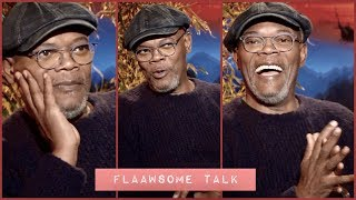 This Is How Much Samuel L Jackson Loves Watching Himself On Screen...