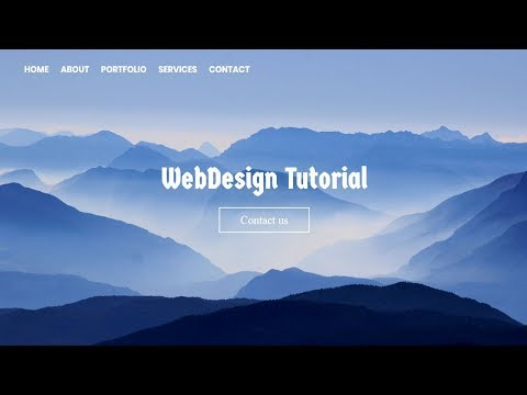 Homepage Design with Text animation