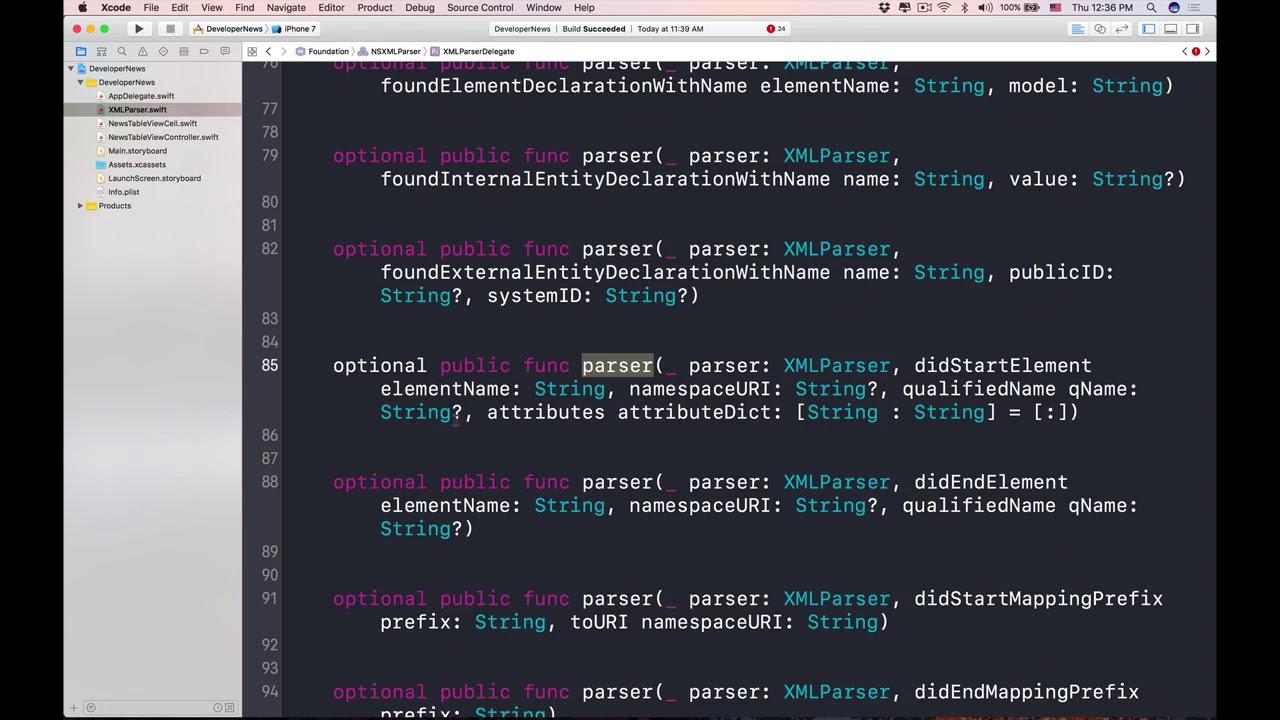 Tutorial parser xml (recorrer y analizar) en iphone | apprendemos.