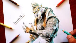 How to Draw LOBUNO ? FORTNITE ? How To Draw WEREWOLF Skin ? ChaPa Draws