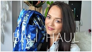 ANOTHER BALI HAUL   Clothing, Shoes, Bags & More!