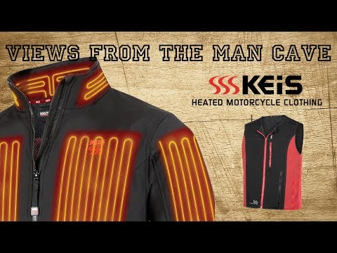 KEIS Premium Heated Vest And Glove Liners - Tried & Tested