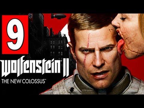 WOLFENSTEIN 2 The New Colossus Walkthrough Part 9 MISSION NEW ORLEANS