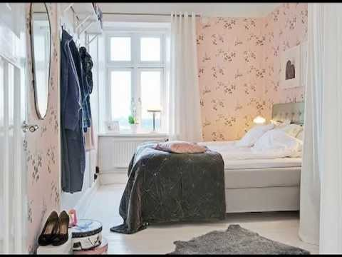 Papel pintado en dormitorios youtube for Papeles para empapelar dormitorios