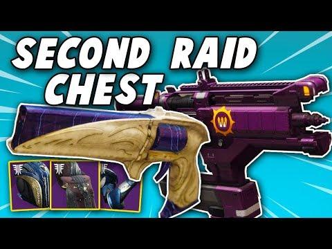 SECOND CHEST TELEPORT! Get Raid Chest as Titan and Warlock (Destiny 2 Forsaken)