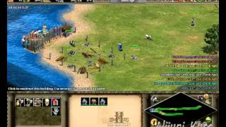 Pointless Achievements - Age of Empires 2 HD - 1v7 Hardest AI won in 4.5 minutes (Spawn Bug)