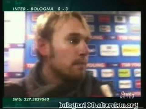 Bologna FC 1909 17/02/2012 Inter – Bologna 0-3 Gillet nel postpartita ETV