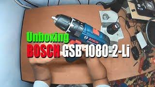 Unboxing BOSCH GSB 1080-2-Li