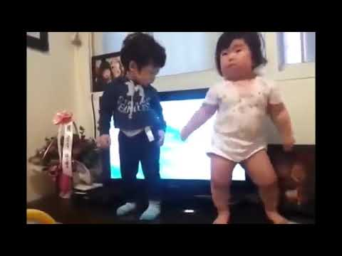 Video Lucu Bayi Joget Asli Dan Gemesin Bangettt