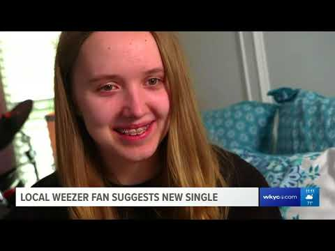 Weezer fan that suggested new single sees band live at Blossom Music Center
