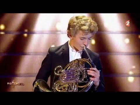 """Florian joue """"Czardas"""" de Monti, au cor"""