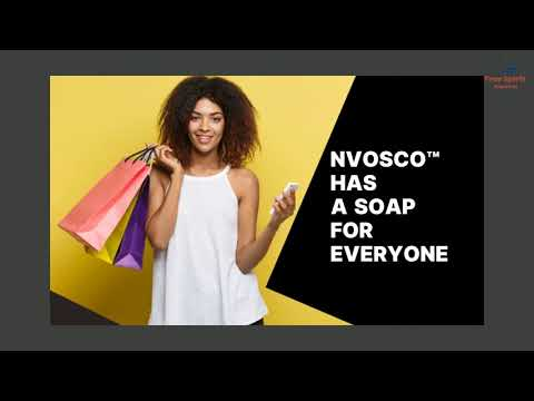 NVOSCO™ All Natural Handmade Soap 100g MADE IN AUSTRALIA (Palm Oil Free) At Free Spirit Supplies