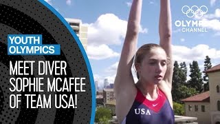 Meet Sophie McAfee: The American diver looking for Youth Olympic Gold | Youth Olympic Games