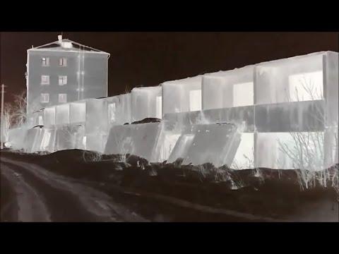 дом призрак  давно заброшенная стройка