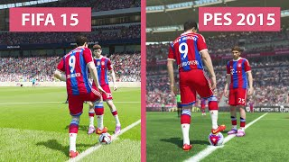 FIFA 15 vs. Pro Evolution Soccer 2015 Comparison