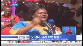 Viongozi Wakike wamsuta Naibu Rais William Ruto
