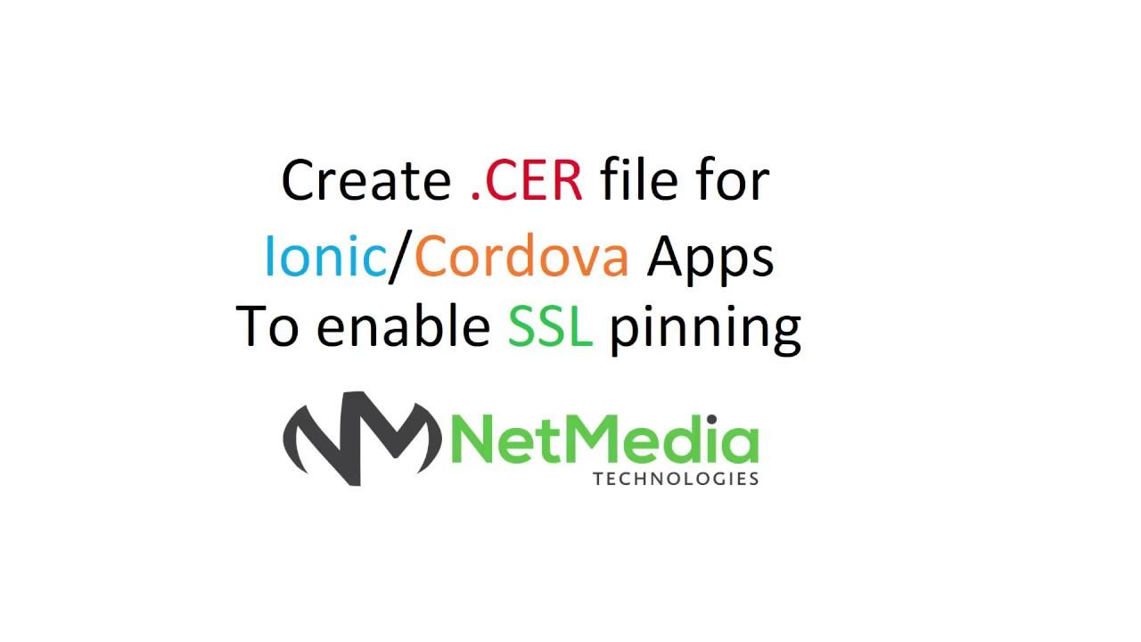 How to integrate SSL in ionic 3 using cordova plugin | Uncaught Error