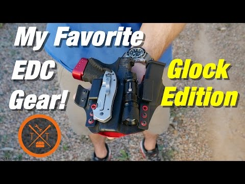 My Favorite EDC Gear & Glock Mods For Daily Carry! Coupon Codes!
