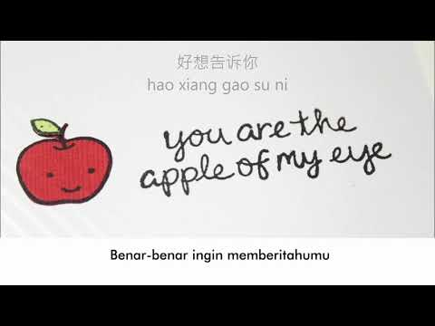 Hu Xia - Na Xie Nian ( Terjemahan ) ost : you are the apple of my eye