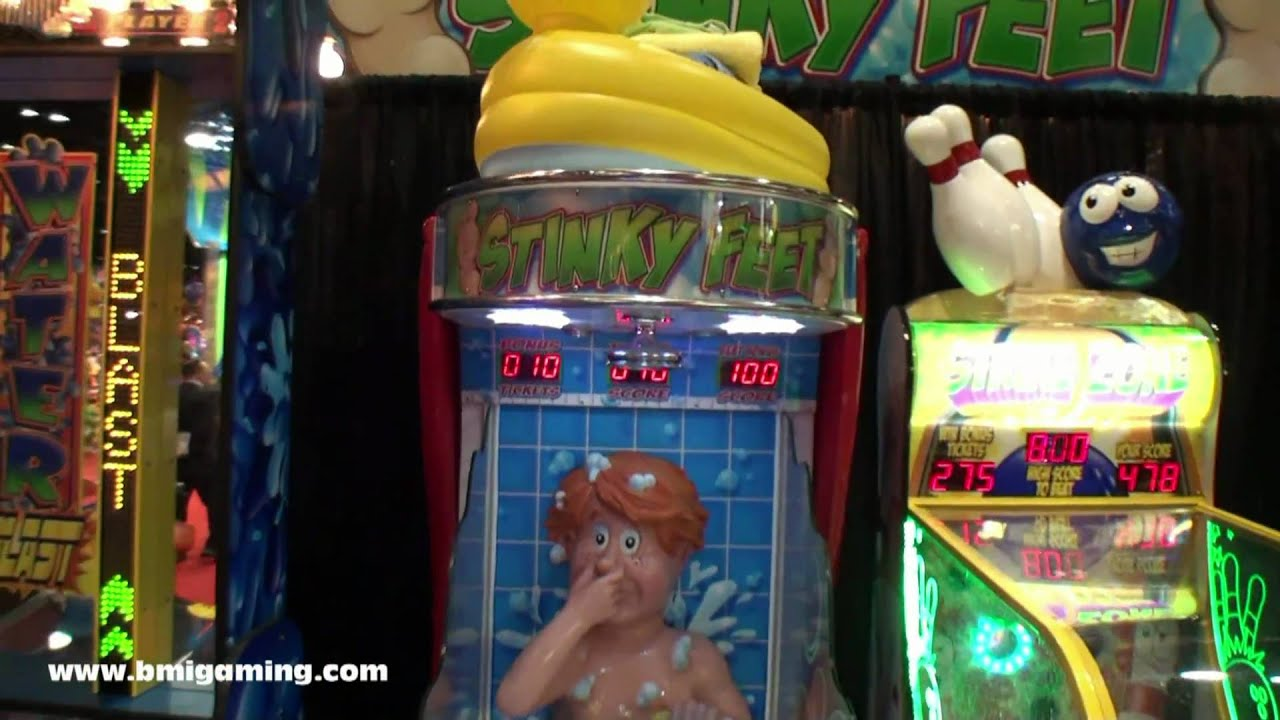 Stinky Feet - Carnival Style Water Gun Redemption Game ...  Stinky